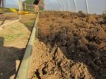 Keeping the soil in the beds