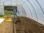 Rotavating the Soil